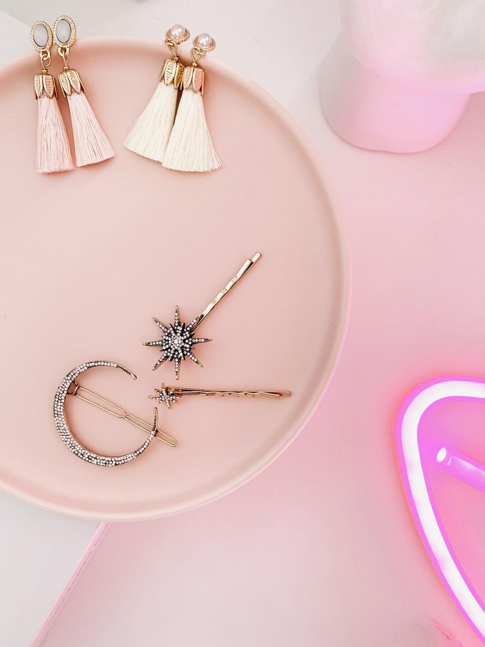 Celestial bridal hair accessories